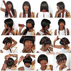 New hairstyle tutorial www.revele-toi.com
