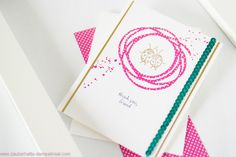 Stampin Up Thank You Friend Card