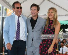 Will Arnett and Jennifer Aniston attend the ceremony honoring Jason Bateman with Star On The Hollywood Walk Of Fame on July 25 2017 in Hollywood. Hollywood Walk Of Fame, In Hollywood, Stock Pictures, Stock Photos, Jason Bateman, Will Arnett, Jennifer Aniston, Suit Jacket, July 25