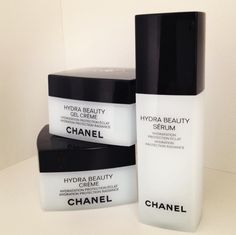 Chanel Hydra Beauty Skincare. I wanna try this line so bad, but my wallet doesn't.