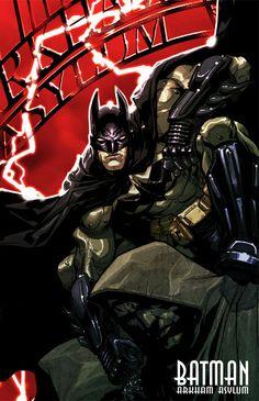 Batman: Arkham Asylum Art & Pictures, Batman Illustration