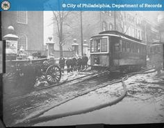 PhillyHistory.org - 225 South 3rd Street-Hose Pumper On Track