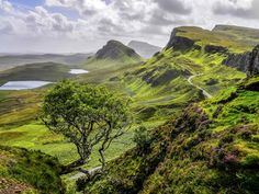 The largest island in the Inner Hebrides, the Isle of Skye is famous for its picturesque fishing villages, and medieval castles, and rugged, several-shades-of-green landscapes.