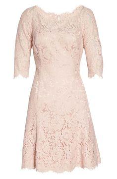 5dbee6ef682 Eliza J Lace Fit   Flare Cocktail Dress (Regular   Petite)
