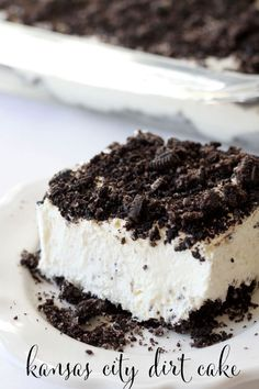 Kansas City Dirt Cake   - CountryLiving.com