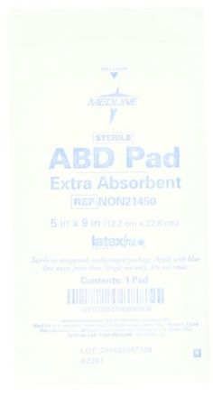 Medline Sterile Extra Absorbent ABD Pads 5x9 Bag of 10 Individually Wrapped Pads *** BEST VALUE BUY on Amazon #FirstAidKit First Aid Kit, Personalized Items, Amazon, Bag, Stuff To Buy, Survival First Aid Kit, Diy First Aid Kit, Amazons, Riding Habit