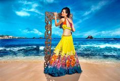 """The Yellow Rose is a love story where a girl has infinite dreams,"" #TheYellowRose, Spring-Summer 2013, #mahekaMirpuri www.mahekamirpuri.com"