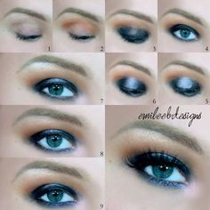 This how-to is all about getting that perfect and intense smoky eyes. Get the essentials to recreate this smoldering look.