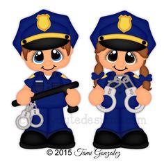 Career Cuties - Police Officer