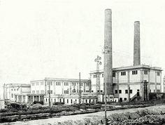 La Centrale électrique des Roches Noires d'une puissance de 25000kw Casablanca