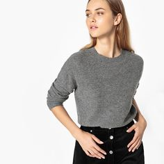 Talking about the coveted grey cashmere jumper over on the blog this week.