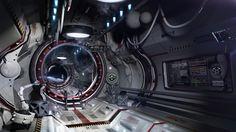 ArtStation - Airlock One, Igor Sobolevsky