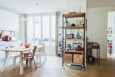 Claire and Karim Paris Apartment | FrenchByDesign