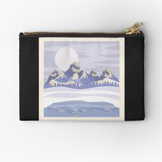Mother Gifts, Gifts For Mom, Canvas Prints, Art Prints, Mountain Range, Winter Day, Mom Humor, Ranges, Zipper Pouch