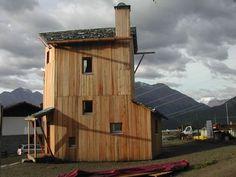 Studio Albori » Casa solare, Solar House, Vens, Valle d'Aosta, 2010 – 2011