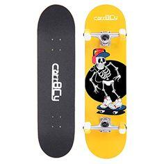 Yellow Skateboard Completely Skateboarding Professional,for Adult-Teenage-Children //56CM