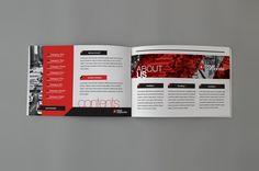 RW Swiss Style Brochure on Behance