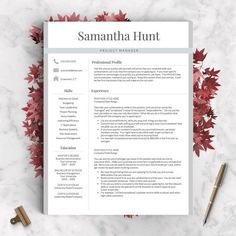 This Resume Template Will StandOut From The Sea Of Applicants