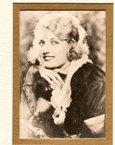 "(Aunt) Eva Novak postcard - hand inscribed ""The Night Horseman"""