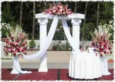 Wedding Decoration With Chairs Wedding Altar Decorations Wedding