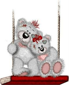 welcome to my world of cute Bears♥ Tatty Teddy, Tole Painting, Fabric Painting, Clipart, Teddy Beer, Decoupage, Mickey Mouse Wallpaper, Blue Nose Friends, Bear Theme