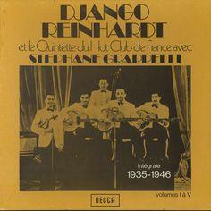 Django Reindhardt et le Quintette du Hot Club de France avec Stephane Grappelli - Intégrale 1935-1946 (Vinyl LP boxset)