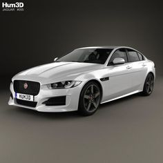 Model Of Jaguar Xe R Sport 2017