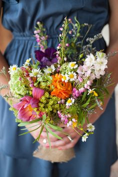 South Texas Farm Wedding from Thompson Poole Photography – Style Me Pretty Bride Bouquets, Flower Bouquet Wedding, Floral Bouquets, Floral Wedding, Blue Wedding, Renewal Wedding, Farm Wedding, Dream Wedding, Hands Holding Flowers