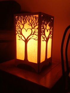 My new custom lamp! To replace one i broke