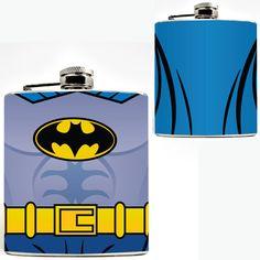 Superhero Hip Flasks - Batman