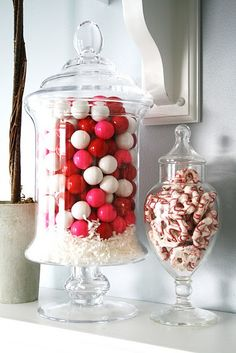 Pinterest Valentineu0027s Candy Bar | Candy Bar @ Home For #Valentines Day...  Holiday DecoratingDecorating IdeasInterior ...