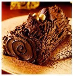 Chocolate Yule Log | Huletts Sugar
