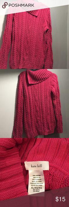 Kate Hill sweater ! Excellent condition Super cozy and pretty Kate Hill sweater, size XL. Kate Hill Sweaters