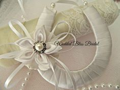 Wedding Bridal Horseshoe by WeddedBlissBridal