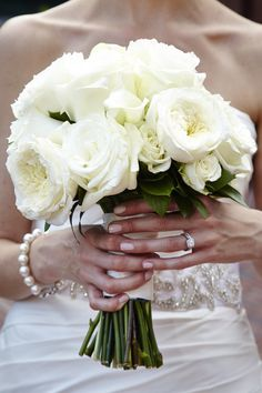 ♡ Wedding Story ♡ White bouquet: