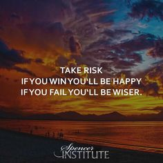 Take risk. If you win you'll be happy, If you fail you'll be wiser. Passion gives you the motivation to keep trying, even if you fail time after time. #inspired  #coach #lifecoachtraining #lifecoaching #lifecoachingschool