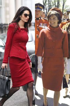 THE OTHER RED SKIRT SUIT 2016; 1961 ♥♥♥