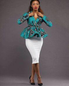 Stylish Ankara Styles For Ladies - Naija Info African Fashion Ankara, Ghanaian Fashion, African Inspired Fashion, Latest African Fashion Dresses, African Dresses For Women, African Print Dresses, African Print Fashion, Africa Fashion, African Attire