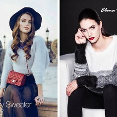Fuzzy sweaters are renowned for their softness and comfort, so its no wonder we keep on seeing them every other season! Feel the softness all day in these sweaters and know that everyone is looking at you with envy! #tbt#throwbackthursday#fuzzysweater#fashion#comfy#warm#soft