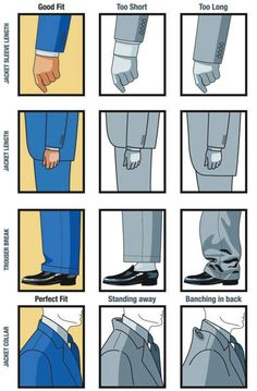 lifemadesimple:  Wearing a suit that fits makes the world of...