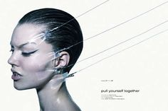 Cosmetic Surgery-Inspired Editorials : Noi.se 'Pull Yourself Together'