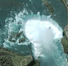 Person May Have Gone Over Niagara Falls