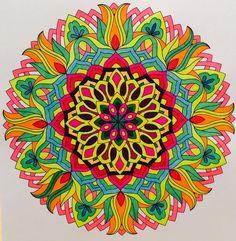 ColorIt Mandalas to Color Volume 1 Colorist: Jan Long #adultcoloring #coloringforadults #mandalas #mandalastocolor