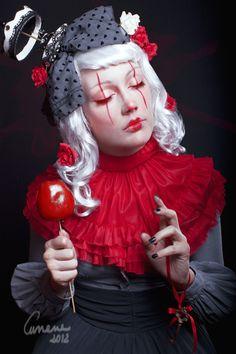 Tribut to Natascia Raffio's art  Model: Delilah Sixthessence  Photo, styiling, editing: Cunene