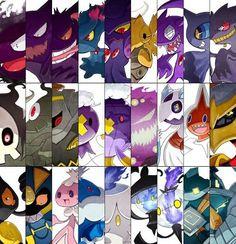 Ghost pokemon ♥♥♥