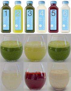 DIY Blueprint juice cleanse recipes & grocery list, tips & tricks! #juicingtricks