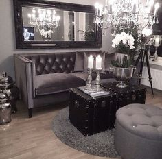 Gothic Designed Living Room