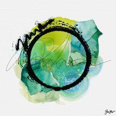 Abstract and mixed media art