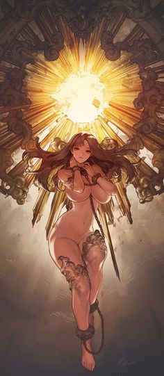 /e/ - All That Glitters Is Gold - Ecchi - Art Anime, Anime Kunst, Character Illustration, Illustration Art, Manga Sexy, Drawn Art, Fantasy Kunst, Estilo Anime, Ecchi