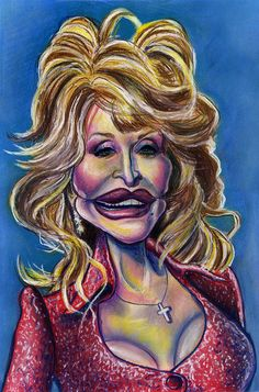 Dolly Parton caricature | by Caricature80